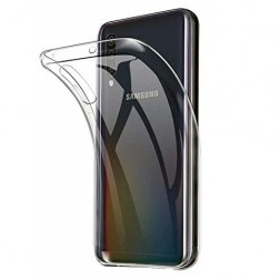 Cieta silikona (TPU) apvalks - dzidrs (Galaxy A50)
