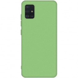 """Shell"" cieta silikona (TPU) apvalks - zaļš (Galaxy A51)"