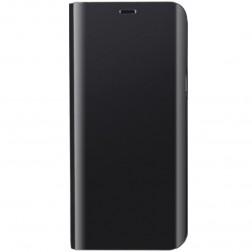 Plastmasas atvērams maciņš - melns (Galaxy A51)