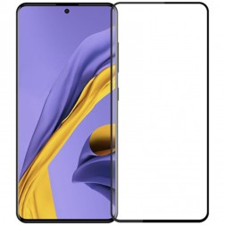 """Mocolo"" Tempered Glass ekrāna aizsargstikls 0.26 mm - melns (Galaxy A51)"