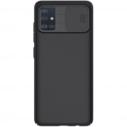"""""""Nillkin"""" CamShield apvalks - melns (Galaxy A51)"""