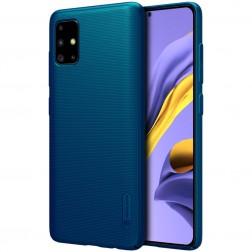 """""""Nillkin"""" Frosted Shield vāciņš - zils (Galaxy A51)"""