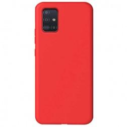 """Shell"" cieta silikona (TPU) apvalks - sarkans (Galaxy A51)"