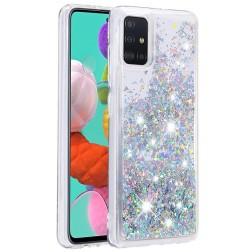 """Shine"" cieta silikona (TPU) apvalks - dzidrs (Galaxy A51)"
