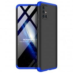 "Thin Fit 360""  futrālis - melns / zils (Galaxy A51)"