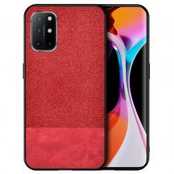 """Bi-Color"" Splicing ādas apvalks - sarkans (Galaxy A52 / A52s)"