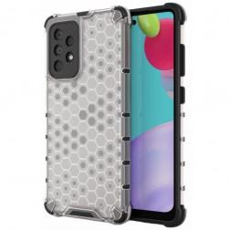 """""""Honeycomb"""" pastiprinātas aizsardzības apvalks - dzidrs (Galaxy A52 / A52s)"""
