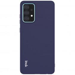"""""""Imak"""" cieta silikona (TPU) apvalks - zils (Galaxy A52 / A52s)"""