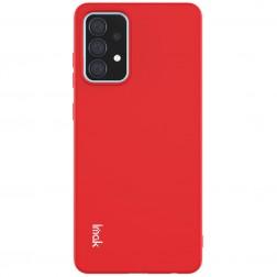 """Imak"" cieta silikona (TPU) apvalks - sarkans (Galaxy A52 / A52s)"