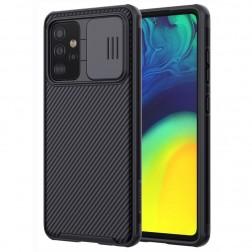 """Nillkin"" CamShield apvalks - melns (Galaxy A52 / A52s)"