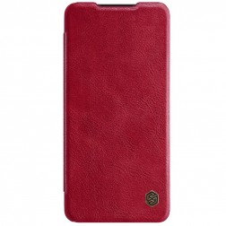 """Nillkin"" Qin atvēramais maciņš - sarkans (Galaxy A52 / A52s)"