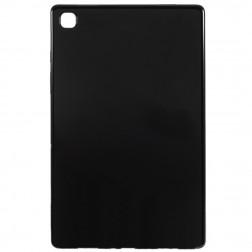 Cieta silikona (TPU) apvalks - melns (Galaxy Tab A7 10.4 2020)