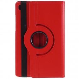 Atvēramais maciņš 360° - sarkans (Galaxy Tab A7 10.4 2020)