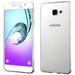 Cieta silikona (TPU) apvalks - dzidrs (Galaxy A7 2016)