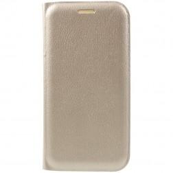 """""""Flip Wallet"""" atvēramais ādas maciņš - zelta (Galaxy A7 2017)"""