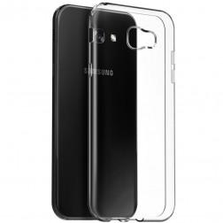 Cieta silikona (TPU) apvalks - dzidrs (Galaxy A7 2017)