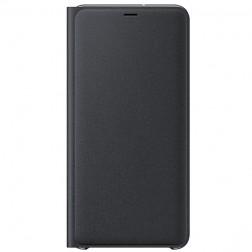 """Samsung"" Wallet Cover atvērams maciņš - melns (Galaxy A7 2018)"
