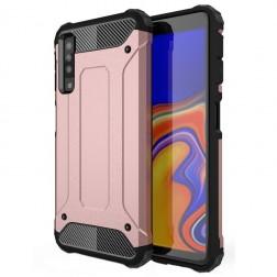 Pastiprinātas aizsardzības apvalks - rozs (Galaxy A7 2018)