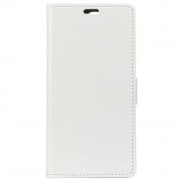 Atvēramais maciņš - balts (Galaxy A70)