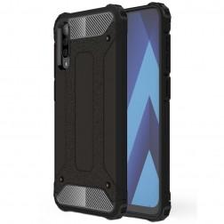 Pastiprinātas aizsardzības apvalks - melns (Galaxy A70)