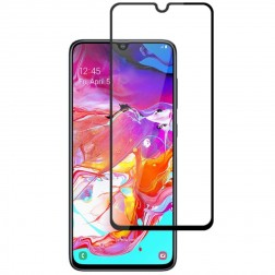 """Mocolo"" Tempered Glass ekrāna aizsargstikls 0.26 mm - melns (Galaxy A70)"