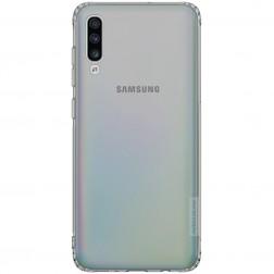"""""""Nillkin"""" Nature TPU apvalks - pelēks (Galaxy A70)"""