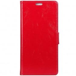Atvēramais maciņš - sarkans (Galaxy A70)