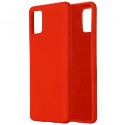 """Shell"" cieta silikona (TPU) apvalks - sarkans (Galaxy A71 5G)"