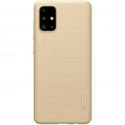 """""""Nillkin"""" Frosted Shield apvalks - zelta (Galaxy A71)"""