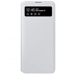 """Samsung"" S View Wallet Cover atvērams maciņš - balts (Galaxy A71)"