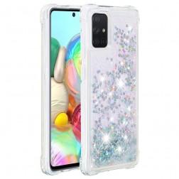 """Shine"" cieta silikona (TPU) apvalks - dzidrs (Galaxy A71)"