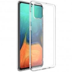 Cieta silikona (TPU) apvalks - dzidrs (Galaxy A71)