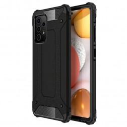 Pastiprinātas aizsardzības apvalks - melns (Galaxy A72)