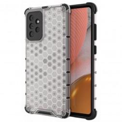 """""""Honeycomb"""" pastiprinātas aizsardzības apvalks - dzidrs (Galaxy A72)"""