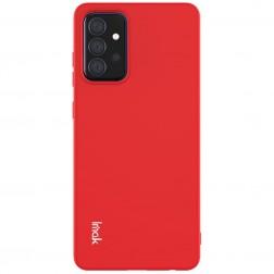 """Imak"" cieta silikona (TPU) apvalks - sarkans (Galaxy A72)"