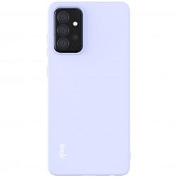 """Imak"" cieta silikona (TPU) apvalks - violeta (Galaxy A72)"
