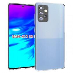 Cieta silikona (TPU) apvalks - dzidrs (Galaxy A72)