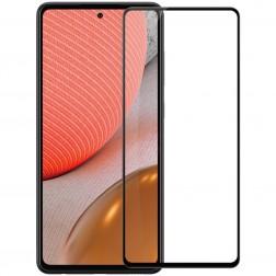 """""""Nillkin"""" CP 9H Tempered Glass ekrāna aizsargstikls 0.33 mm - melns (Galaxy A72)"""