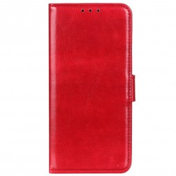 Atvēramais maciņš - sarkans (Galaxy A72)
