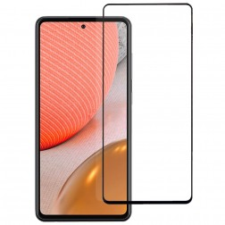 """Rurihai"" Tempered Glass ekrāna aizsargstikls 0.26 mm - melns (Galaxy A72)"