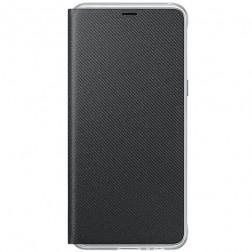"""""""Samsung"""" Neon Flip Cover atvērams maciņš - melns (Galaxy A8 2018)"""