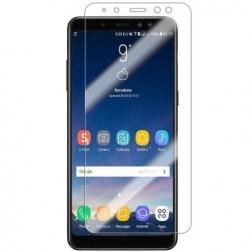 """""""ISME"""" ekrāna aizsargplēve (pilnīgi aizsedzama) - dzidra (Galaxy A8 2018)"""