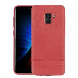 """Armor"" cieta silikona (TPU) apvalks - sarkans (Galaxy A8 2018)"