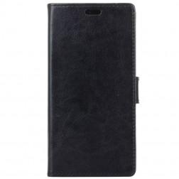 Atvēramais maciņš, grāmata - melns (Galaxy A8+ 2018)