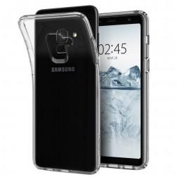 Cieta silikona (TPU) apvalks - dzidrs (Galaxy A8 2018)