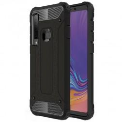 Pastiprinātas aizsardzības apvalks - melns (Galaxy A9 2018)