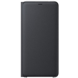 """Samsung"" Wallet Cover atvērams maciņš - melns (Galaxy A9 2018)"