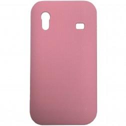 Plastmasas futrālis - rozs (Galaxy Ace)