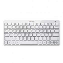 """Oficiāla """"Samsung"""" universāla bezvadu Bluetooth tastatūra - balta"""
