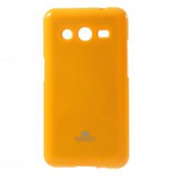 """Mercury"" futrālis - dzeltens (Galaxy Core 2)"